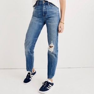 Madewell The Perfect Summer Jeans High Rise